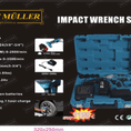 Impact Wrench set by Kraft Muller